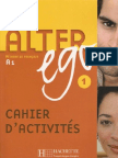 Alter Ego 1 Cahier Dactivits