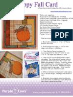 Happy Fall Card by Elisa Kammerdiener