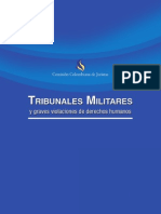 CCJ - Tribunales Militares y Graves Violaciones de Derechos Humanos