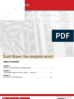 Scott Brown-Complete Record