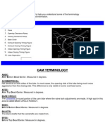Camshaft - Terminology
