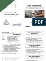 Tiempo Devocional Filipenses Librito Tamano A6 Imprima en A4