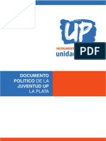 Documento Politico Juvendud UP_La Plata