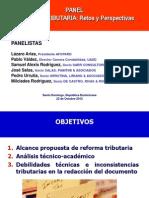 Panel Reforma Fiscal, Octubre 2012