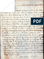 Civil War Letter From Southern Prison Camp