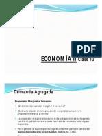 Economia II clase 12Aa