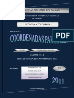 coordenadas parciales