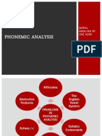 Phonemic Analysis