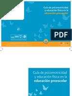 Guía de psicomotricidad y educación física