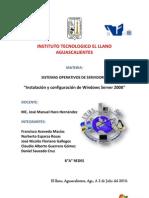 manual de configuracion e instalacion active  directory windows server 2008
