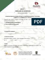 PRIMERA VERSION DE LA CONVOCATORIA DE FOMENTO Y ESTIMULO A LA CREACION ARTISTICA DE LA COMUNA 12 (LA AMÉRICA) - 2012