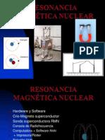 Resonancia Magnetica Nuclear  y Equipo