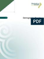 Demographic Trends 2011