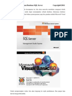 Tutorial SQL Server Dengan VB 6, Visual Basic dengan SQL Server, VB dengan SQL Server