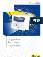 Logiciel de Gestion Des Temps Kelio Alfa 650240E