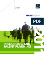 Resourcing and Talent Planning Survey 2011
