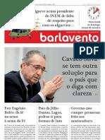 """José Ribeiro e Castro em entrevista ao jornal """"Barlavento"""" - 25-out-2012"""