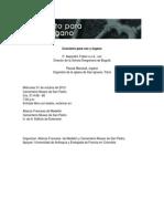Información de Concierto para voz y organo Cementerio Museo de San Pedro