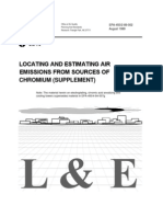 Locating and Estimating Air Emissions From Sources of Chromium Supplement
