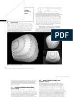 Fabrication of Partially Double-Curved Surfaces Out of Flat Sheet Material Through a 3D Puzzle Approach