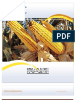 DAILY AGRI REPORT BY EPIC RESEARCH- 25 OCTOBER 2012