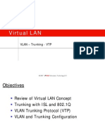 3.3 VLAN and Trunking