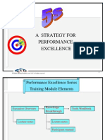5 s Strategy for Performance Excellence