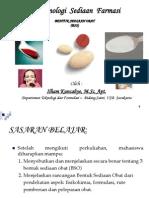 Rancangan Bentuk Sediaan Obat