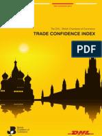 DHL/BCC Trade Confidence Index 3rd Quarter