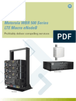 LTE Enode B WBR 500 Series Brochure FINAL