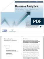 IBM Business Analytics PDF Version
