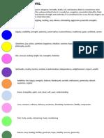 colour connatations 