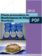 Planta Procesadora de Hamburguesas de Tilapia.. Original