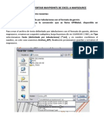 Guia Para Exportar Waypoints de Excel a Mapsource