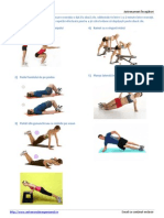 Fitness Acasa - Antrenament Incepatori