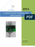 Loadcell Based Weighing and Alert System