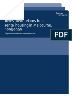 Human Services Victoria - Investment Returns Rental Housing