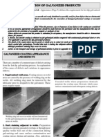 Inspection of Galvanized Product