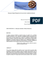 Microsoft Word - Educação, Estágio Obrigatório de Serviço Social e trabalho dos discentes