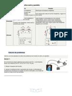 Características de los circuitos serie y paralelo