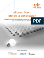 El Buen Lider, Faro de La Conciliacion. Estudio del Observatorio-EFR