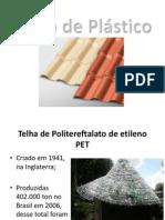 Telhas de Plástico