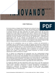 INNOVANDO Nº 73 de 23 de  octubre de 2012 cf