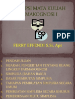 1.PENDAHULUAN FARMAKOGNOSI