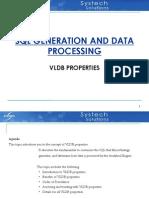SQL Generation and Data Processing - Vidya