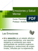 Emociones y Salud Mental