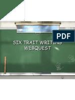 webquest 6trait