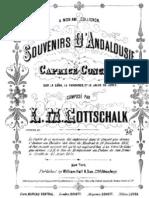 Gottschalk Souvenir de Andalousie