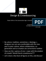 Design & Crowdsourcing
