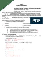 Evaluare Management